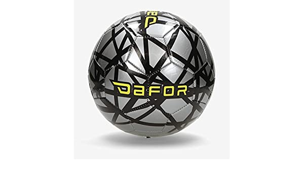 Dafor Balón Fútbol 11 Gris (Talla: 5): Amazon.es: Deportes y aire ...