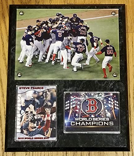 2018 Boston RED SOX World Series Champions Deluxe 8x10 Collector Photo Plaque