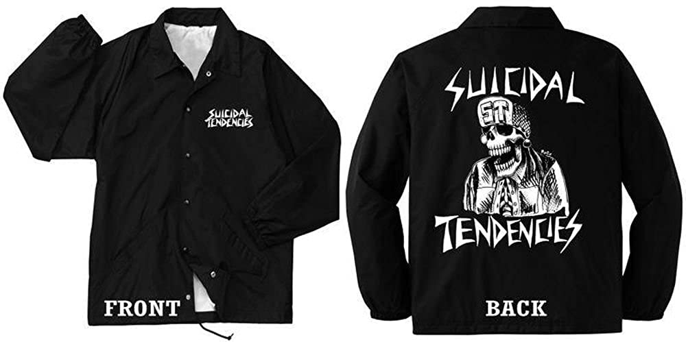 Suicidal Tendencies Official Windbreaker Flipskull - up to 5XL