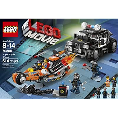 LEGO Movie 70808 Super Cycle Chase (Discontinued by Manufacturer): Toys & Games