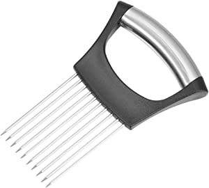 APVTI Onion Slicer Tomato Cutter Stainless Steel Onion Peeler Meat Slicers Fruit Vegetables Tools Kitchen Gadgets(Type A)