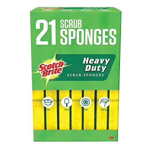 Scotch-Brite Heavy Duty Sponge, 21-pack