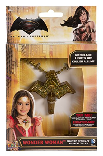 Rubies Wonder Woman Light Up Necklace Costume -