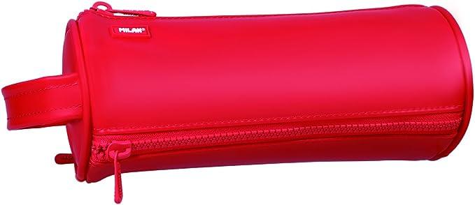 Milan Matt Touch Estuches, 22 cm, Rojo: Amazon.es: Equipaje
