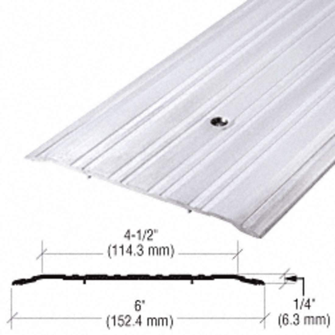 6'' Aluminum Commercial Saddle Threshold - 73'' Length by CR Laurence (Image #1)