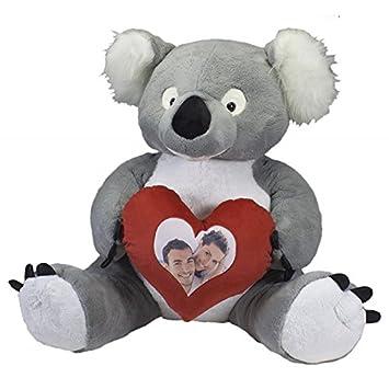 Hogar Decora Koala DE Peluche Gigante Lovely Personalizado con Foto 165 CM