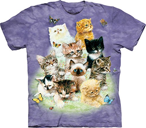 The Mountain Kids Ten Kittens T-Shirt made in New England