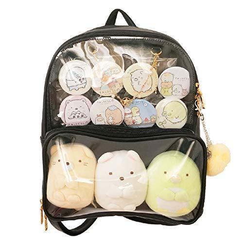 Patty Both Clear Backpack Transparent Ita Bag for Anime Lolita Bag DIY Cosplay(Ita Bag, -
