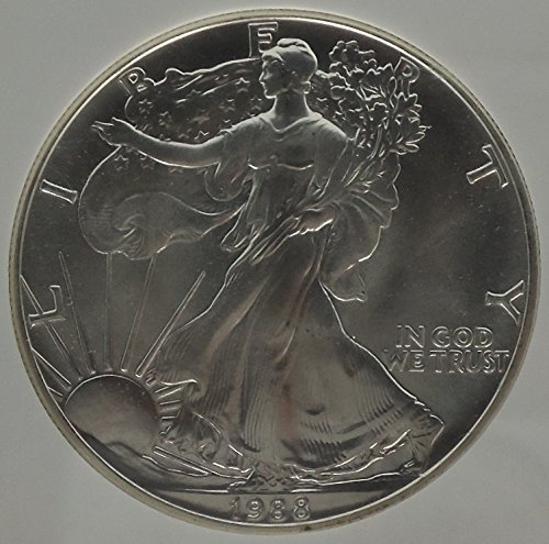 1988 P Silver Eagle $1 MS-69 NGC