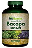 Bacopa Monnieri Leaf – 500 mg- 90 Capsules