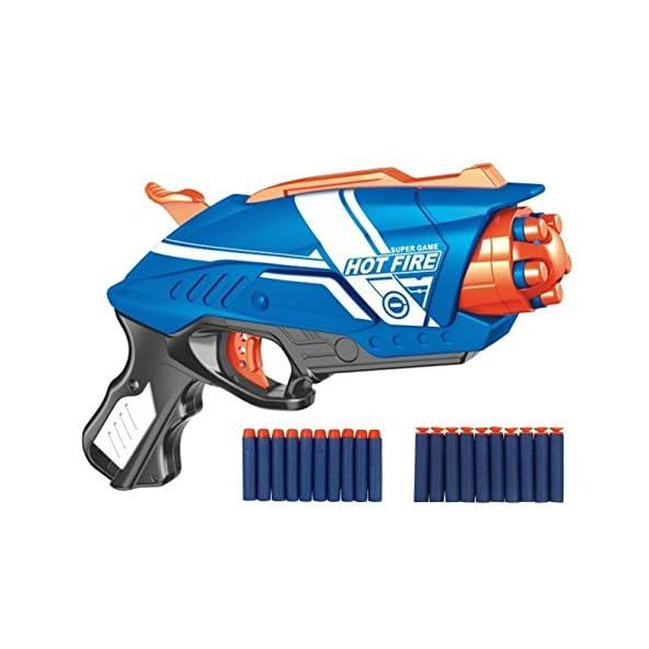 Storio Blaze Storm Foam Blaster Toy Gun for Kids Best Guns for Boys with 20 Bullets