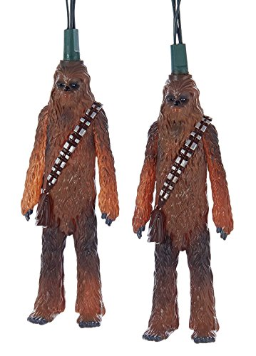 Kurt Adler UL 10-Light Star Wars Chewbacca Light Set