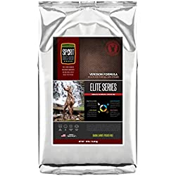 SportDogFood Elite Grain Free Dog Food, Special Blend Venison, 30-Pound