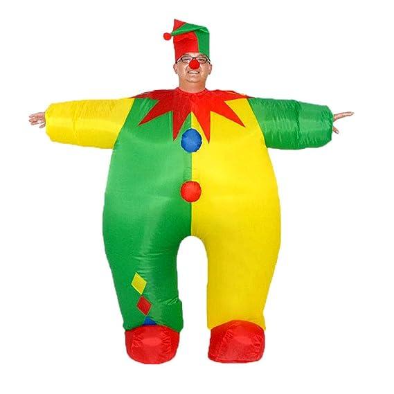 Vxhohdoxs - Disfraz de payaso inflable para adulto: Amazon ...