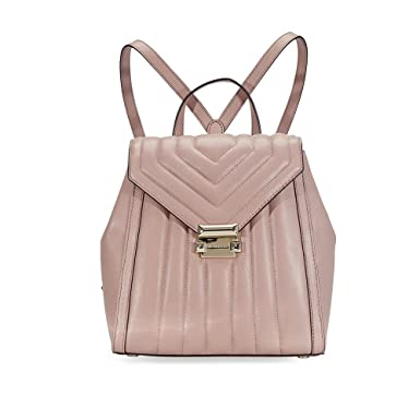 8a491bce1bbb Amazon.com | MICHAEL Michael Kors Whitney Quilted Small Backpack ...