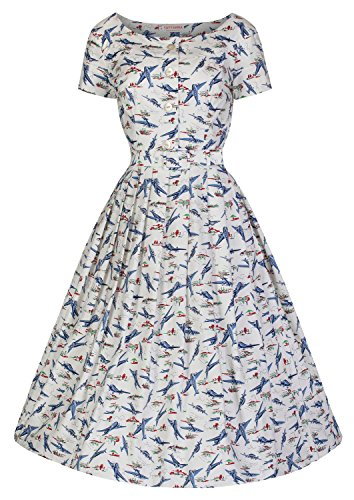 Womans vintage 1950's dress. Isabelle - Retro Aircraft