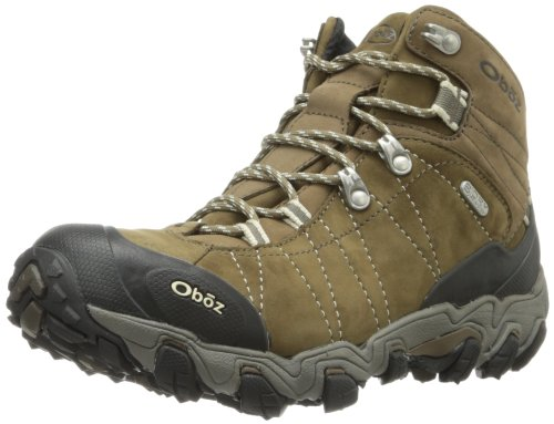 Oboz Bridger Mid B-Dry Hiking Boots - Women's Walnut 8.5 Wide by Oboz