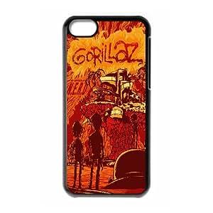 [Gorillaz Series] IPhone 5C Cases Gorillaz Poster, Stevebrown5v - Black