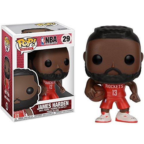 (James Harden: NBA x Funko POP! Sports Vinyl Figure & 1 PET Plastic Graphical Protector Bundle [#029 / 21822 - B])