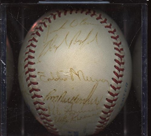 Baltimore Orioles Team Signed Baseball (1987 Baltimore Orioles Team Signed Baseball 21 Signatures PSA/DNA)