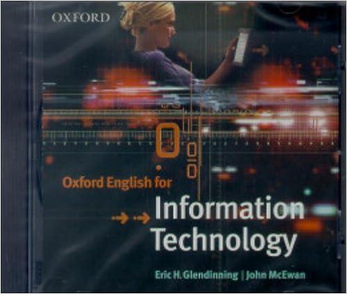 Como Descargar Un Libro Oxford English For Information Technology: Cd Mega PDF Gratis