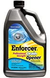 Enforcer U39524 Professional Strength Drain Opener, 128 Gallon (Pack Of 4)