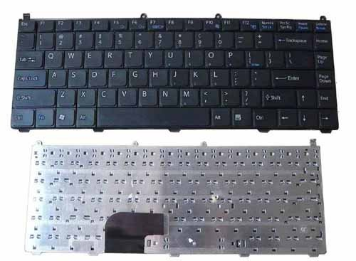 (New US Laptop replacement Keyboard Without Frame&without backlit for SONY VAIO VGN-FE VGN FE VGN-FE550G Series)