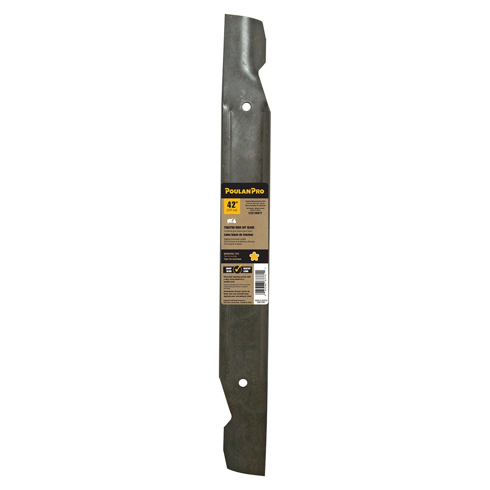 Poulan— High Lift Blade for Lawn Mowers