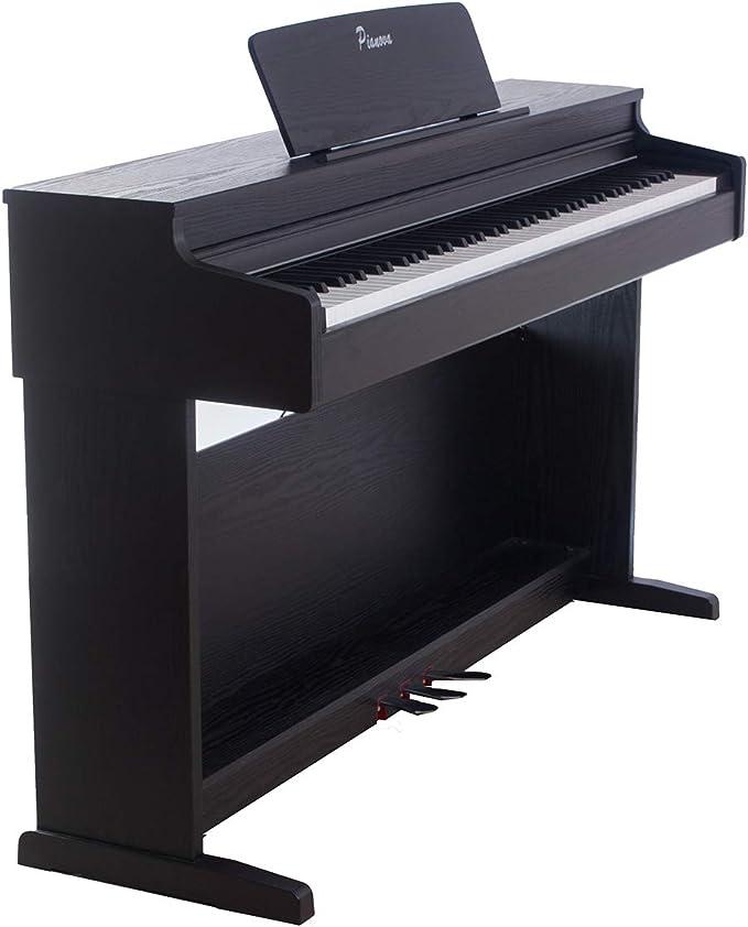 Pianova P-193 BK - Pack Piano Digital con 88 Teclas ...
