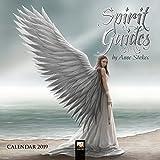 Spirit Guides by Anne Stokes mini wall calendar 2019 (Art Calendar)