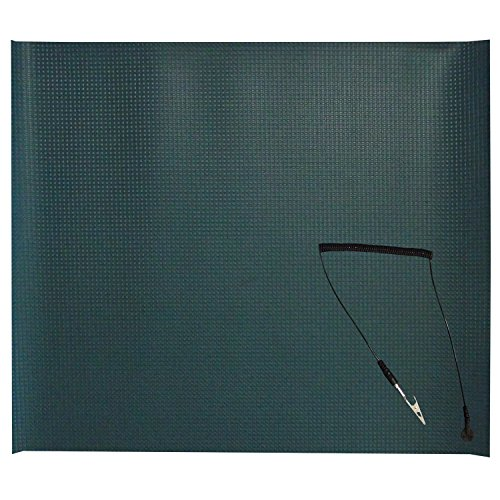 "Shaxon SHX-1450 Anti-Static Grounding Mat, 23"" x 19.5"""