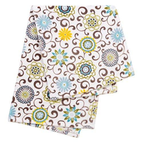 Trend Lab Plush Baby Blanket, Multi Waverly Pom Pom Spa by Trend Lab (Image #1)