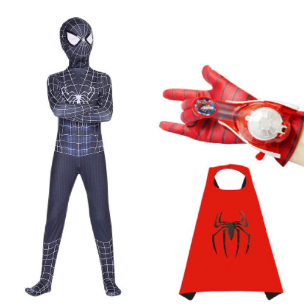 ZHANGQI Disfraces De Halloween Cosplay Adultos Niños 3D Araña Iron ...