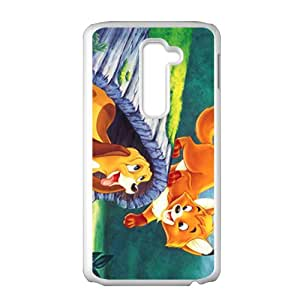 Lovely cat and dog Cell Phone Case for LG G2