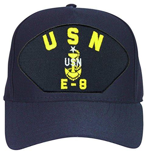 E8 Ball Cap (USN E-8 Senior Chief Petty Officer with Anchor Ball Cap)