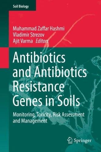 Antibiotics and Antibiotics Resistance Genes in Soils: Monitoring, Toxicity, Risk Assessment and Management (Soil Biology)