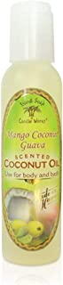 product image for Island Soap & Candle Works Scented Coconut Oil, 4.5oz., Mango Coconut Guava