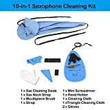 10-in-1 Saxophone Cleaning Kit, Alto Saxophone
