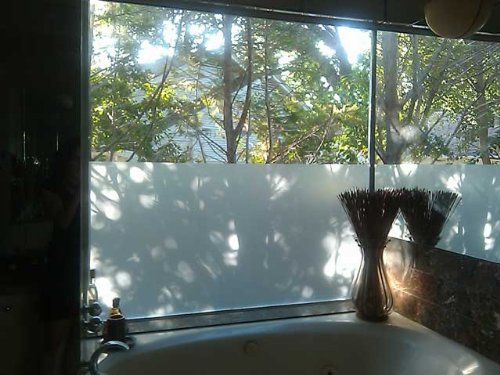 White Frost Privacy Window Film 60'' Wide x 25ft