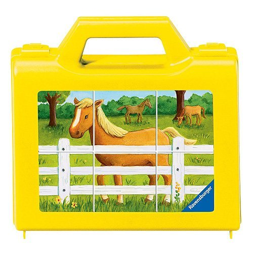 (Ravensburger My Farm Cube Puzzle (6 Piece))