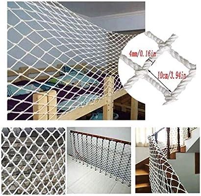 Malla de jardín YINUO Red decorativa de nylon Foto interior Decoración de la pared Escalera Red