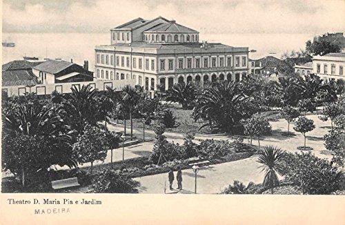 - Madeira Portugal Theatre Antique Postcard J49453