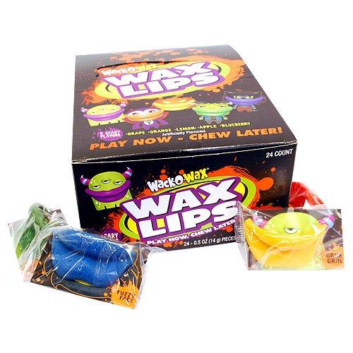 Concord Global Trading Wack-O-Wax Halloween Wax Lips ()