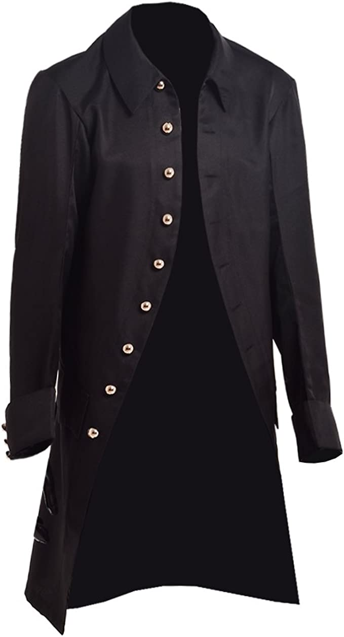 Men's Steampunk Jackets, Coats & Suits BLESSUME Steampunk Jacket Victorian Men Colonial Frock Coat £24.99 AT vintagedancer.com
