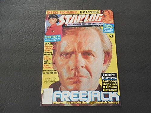 Starlog #176 Mar 1992 Kathy Ireland (Hubba, Hubba); Kim Cattrall