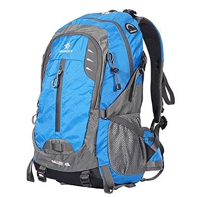 Vanwalk 35L / 40L Hiking Backpack Water-resistant Lightweight Packable Durable Travel Daypack for Unisex