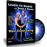 West Coast Swing Vol 1 - Learn the Basics & More (Swing Dance Lessons DVD)