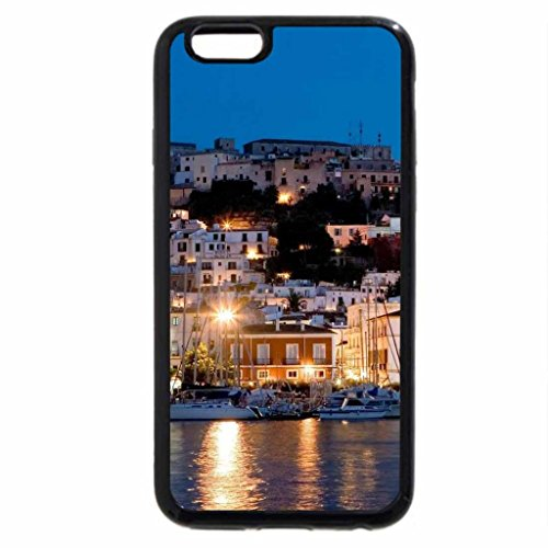 iPhone 6S / iPhone 6 Case (Black) seaside town at night