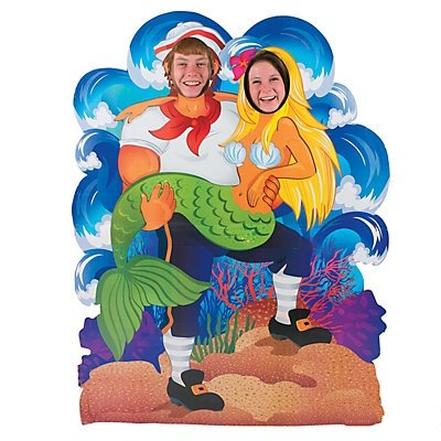 Under the Sea Couples Photo (Photo Stand Ups)