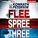 Codename: Chandler Trilogy: Three Complete Novels (Flee, Spree, Three) Hörbuch von J. A. Konrath, Ann Voss Peterson Gesprochen von: Angela Dawe